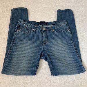 Rock & Republic Berlin Pinstripe Skinny Jeans